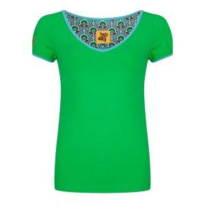 94-Shirt-groen-V-hals-300x300