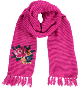 Big Shawl Rose Pink