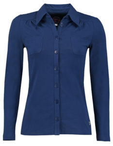 Blouse Betsy Solid Blue