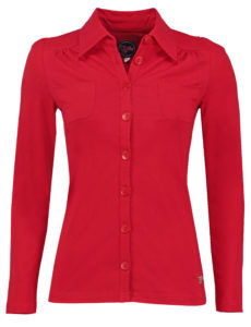 Blouse Betsy Solid Red