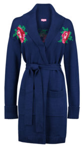 Cardigan Rose Blue