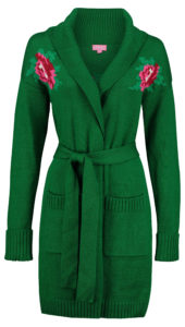 Cardigan Rose Green