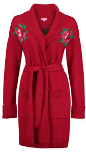 Cardigan Rose Red
