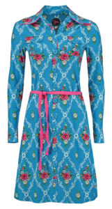 Dress Betsy Gardenia Blue