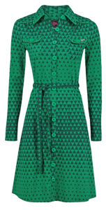 Dress Betsy Triangle Green