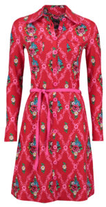 Dress Bobbie Gardenia Red