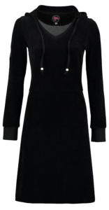 Dress Skippy Nicky Velours Black