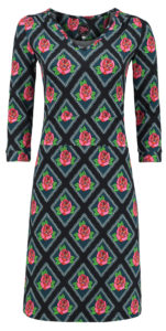 Dress Victoria Square Rose Black