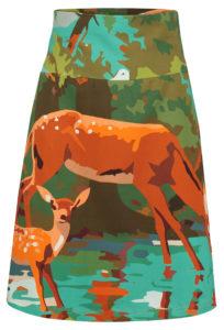 Skirt Vintage deer