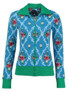 Sporty Jacket Gardenia Blue