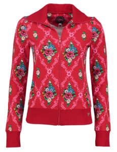Sporty Jacket Gardenia Red