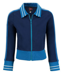 Sporty Jacket Girl Blue