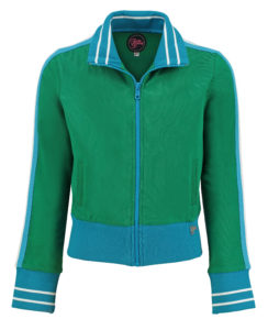 Sporty Jacket Girl Green