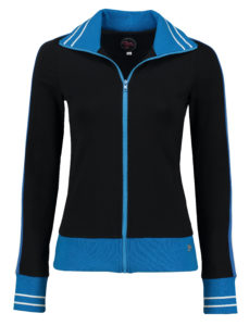 Sporty Jacket Solid Black