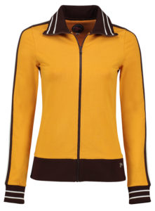 Sporty Jacket Solid Gold