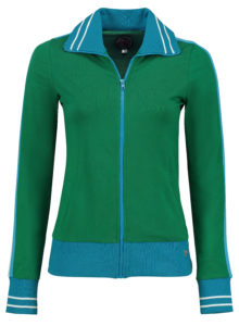 Sporty Jacket Solid Green