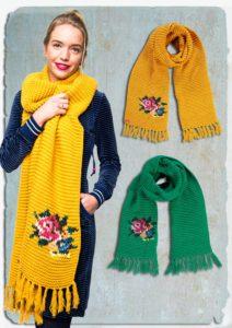 aw18 lb sjaal geel