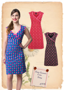 dress summer cross daisy