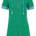 dress summer skippy mini girls green