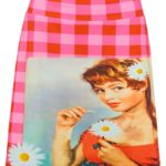 kitschy skirt brigitte red