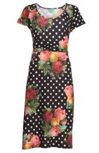 LASU1830-LaLamour-lindy-dress-polkadot-zwart