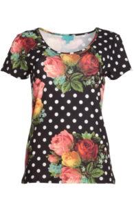LASU1831-LaLamour-polkadot-tshirt-zwart